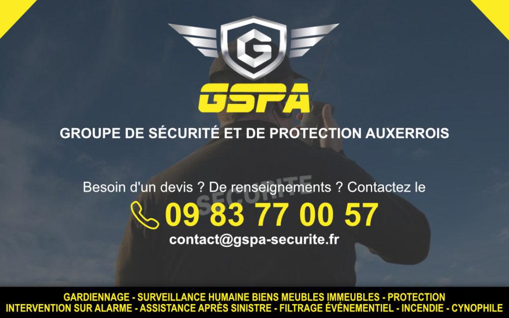 sécurité privée auxerre